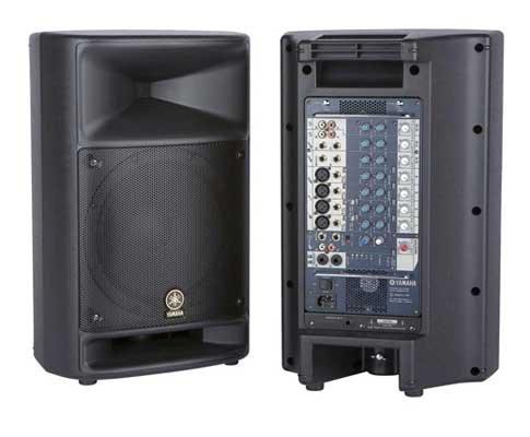 Yamaha STAGEPAS 500 Aktivlautsprecher Set 500W schwarz