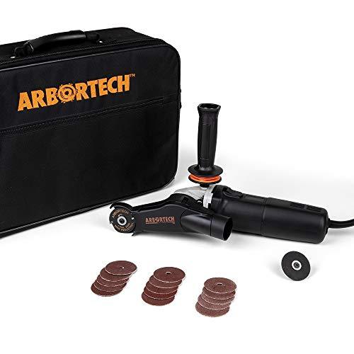 ARBORTECH Mini Carver | Ø 50 mm Mini Winkelschleifer zur Holzbearbeitung | MIN.FG.600.60