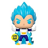 Lotoy Funko Pop Dragonball - SSGSS Vegeta Powering Up Glow in Dark #713 Vinyl 3.9inch Animation Figu...