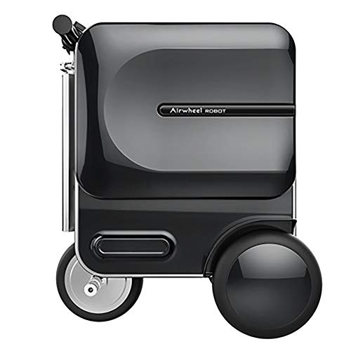 Best Review Of TangFeii-trunk Luggage with Spinner Wheels 29.3L Folding Electric Suitcase Scooter Re...