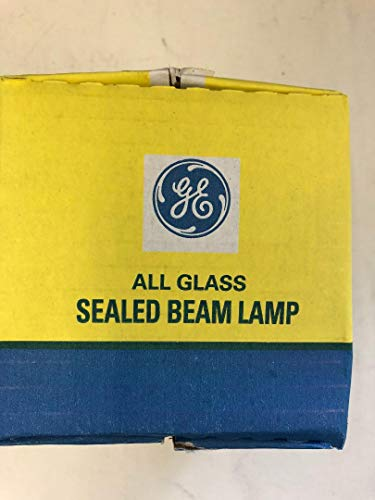 11 Pieces GE 14555 25PAR36WFL 25W PAR36 12V Wide Flood All Glass Sealed Beam LAMP