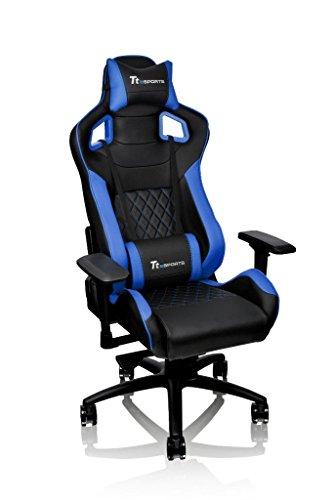 Tt eSPORTS GT-Fit 100 Gaming Chair - GC-GTF-BLMFDL-01, blue