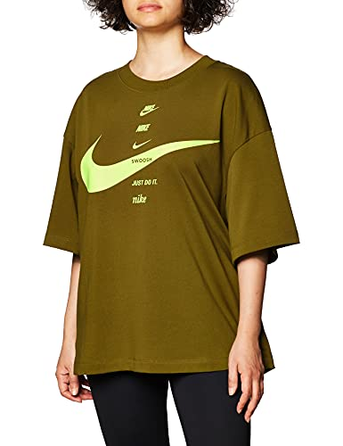 Nike T-Shirt Donna Art. CU5682 VerdeAci Donna Mod. CU5682 XL