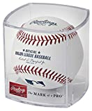 Rawlings Official 2019 MLB Baseball and Display Cube (1 ROMLB-R Ball and Case)