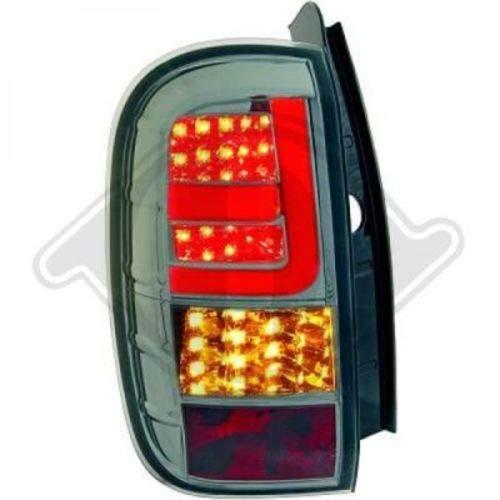 in. pro. 4560998 haute définition Lampes arrière Lightbar, transparent fumé