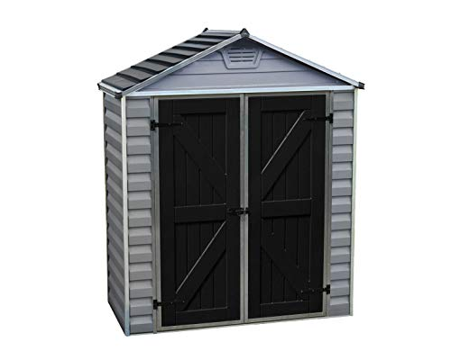 pas cher un bon Garden House Palram Skylight Garden 1.55m² (6 × 3, gris)