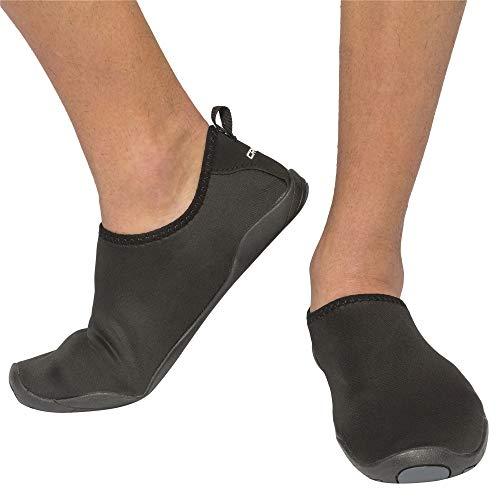 Cressi Black Aqua Socks Lombok Schuhe Für Das Meer, Schwarz, 37