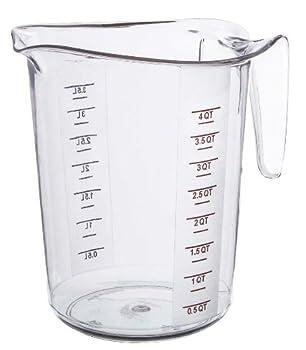 4-Quart Plastic Measuring Cup