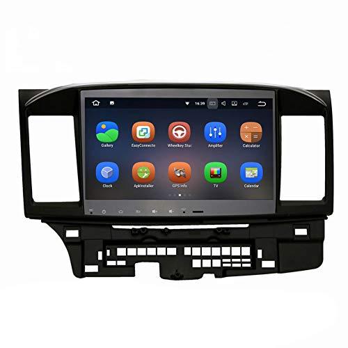 SYGAV Android Car Stereo for 2008-2013 Mitsubishi Lancer EVO X Ralliart with Rockford Fosgate AMP GPS Navigation Radio