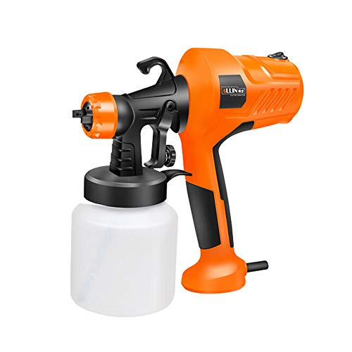 TZH Electric Spray Gun, Handheld 450W Spray Gun, Wall Paint, Alcohol Sprayer, Car Paint Spraying, Suitable for Various Spraying Projects