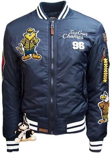 "Top Gun MA-1 ""Champs"" Nylon Bomber Jacket"