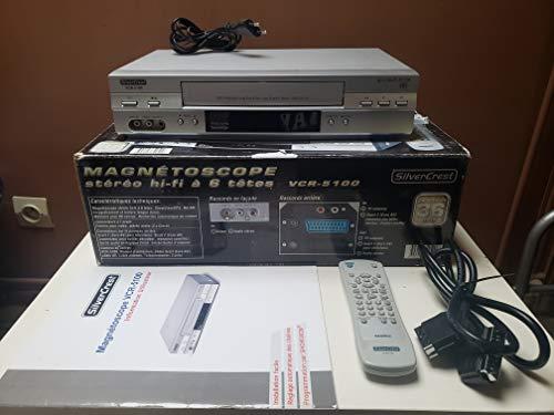 Magnétoscope VHS SilverCrest VCR...