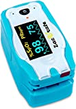 Accurate Digital Fingertip Pulse Oximeter Blood Oxygen Saturation Monitor With Adorable Animal Theme...