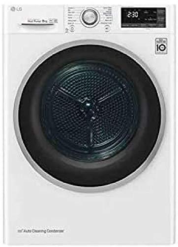 Secadora - LG RC80U2AV4D.ABWQKES, 8Kg, 14 Programas, 62 dB, Clase A+++, Blanco