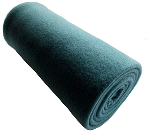 EXTRA LONG - 200cm Teal Green Lightweight Yoga/Sport Blanket