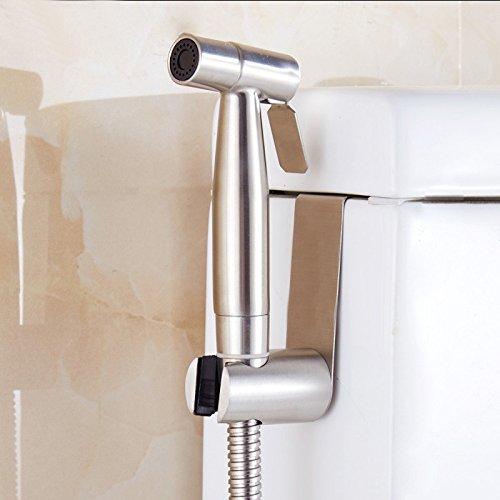 GFEI acier inoxydable 304 / toilettes pistolet sous pression des tuyères sanitaires aux toilettes ou nettoyage, balcon laveuse, pistolet de pulvérisation