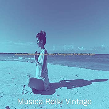 Vivacious Shakuhachi and Harp - Background for Natural Light