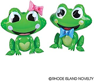 Two Adorable Inflatable Frogs 24