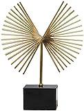 MXCHEN Desktop Sculpture Metal Artesanía Decorativa Adornos