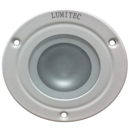Lumitec Shadow - Flush Mount Down Light - White Finish - 3-Color Red/Blue Non Dimming w/White Dimming