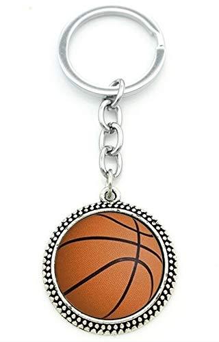 Générique sleutelhanger, zaksieraden, bedrukt, basketbal.