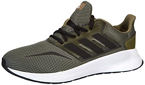 adidas RUNFALCON K,  Zapatillas de Running Unisex Adulto,  CAQPUR/NEGBÁS/FTWBLA,  39 1/3 EU