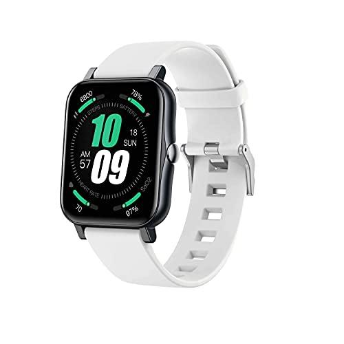 ZGZYL S80 Ladies Smart Watch con Pantalla De 1.7 Pulgadas, Reloj Deportivo A Prueba De Agua IP68, Rastreador De Fitness para Hombres con Función De Monitoreo De Frecuencia Cardíaca,H