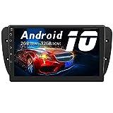 AWESAFE Android 10.0 [2GB+32GB] Radio Coche para Seat Ibiza 2009-2013, 9 Pulgadas Pantalla Tactil para Coche con WiFi/Bluetooth/GPS/DSP/FM Am/USB/RCA, Apoyo Mandos Volante, Aparcamiento, Mirror Link