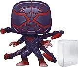 Spider-Man Miles Morales Programmable Matter Suit Pop # 773 Marvel Gamerverse Vinyl Figure (Bundled with EcoTek Protector to Protect Display Box)