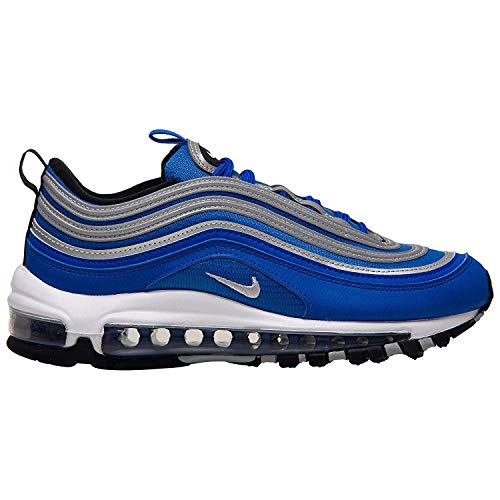 Nike Schuhe Air MAX 97 (GS) Racer Blue-Metallic Silver-Black (921522-406) 38 Blau