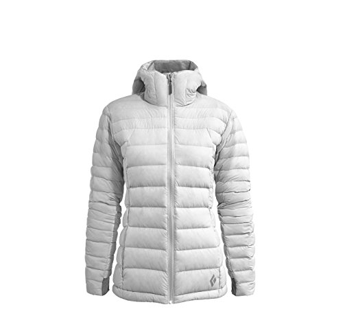 Black Diamond W Cold Forge Hoody Damen-Sweatshirt XL Aluminum