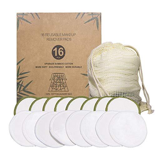 KoelrMsd Almohadillas de algodón orgánico Reutilizables, removedor de Maquillaje, Limpieza Lavable, removedor de Maquillaje de Microfibra, Herramientas de Belleza, algodón de Limpieza de Terciopelo