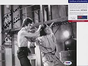 Jackie Chan Signed Autograph 8x10 Photo PSA/DNA COA #5
