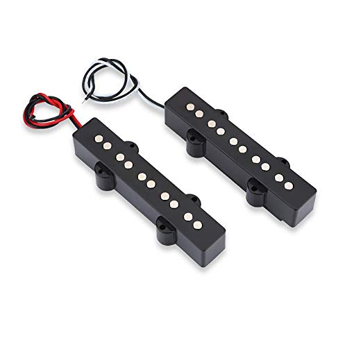 2PCS 5 Cuerdas Open Bridge Pickup Set Instrumento de música Accesorio para Jazz Bass JB Electric Bass Guitar Accesorio