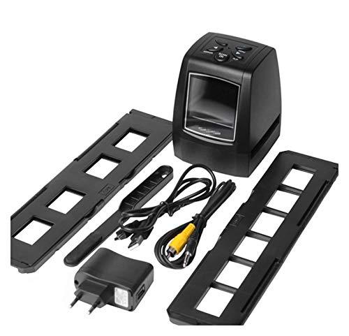 GOUJI Liupin Store Hochauflösende Scanner Digital konvertiert USB-Negative Dias Photo Scan Portable Digital Film Converter 2.36 Zoll LCD