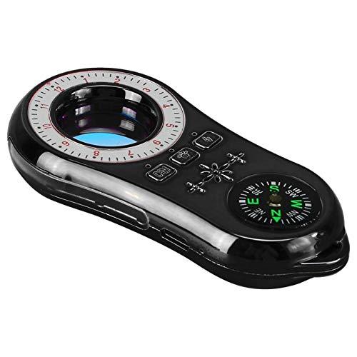 LED-Eingabeaufforderungs-Infrarot-Scanner Tragbarer Infrarotdetektor für Personen, die ihre Privatsphäre und die Privatsphäre anderer respektieren(black)