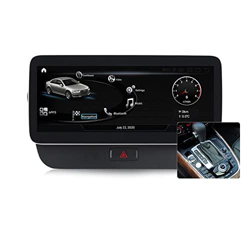 Buladala Qualcomm Android 11 Coche Radio de Navegación para Audi Q5 2009-2017 con 12.5' Pantalla Construido CarPlay DSP Support Coche Estéreo Multimedia/CD DVD SWC/Split Screen,MMI 3g,450: 4+64 GB