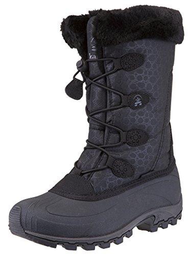 Kamik Women's Momentum Snow Boot (6.5 B(M) US, Black II)