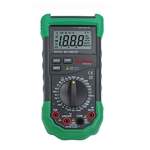 Mastech MS8264 3 1/2 Digital Multimeter Protection Circuit Anti-Burn Capacitance Frequency Temperature Tester Detector
