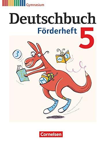 Deutschbuch Gymnasium - Fördermaterial - 5. Schuljahr: Förderheft