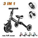 besrey 5-in-1 Kids Trike Lightweight Kids Tricycle Toddler Bike for 1-5 Years Old Ultimate Baby Bike