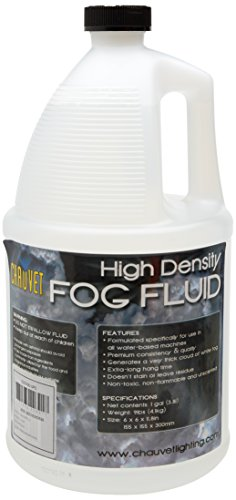 CHAUVET DJ High-Density Fog Machine Fluid - One Gallon | Fog Machines (Packaging May Vary)