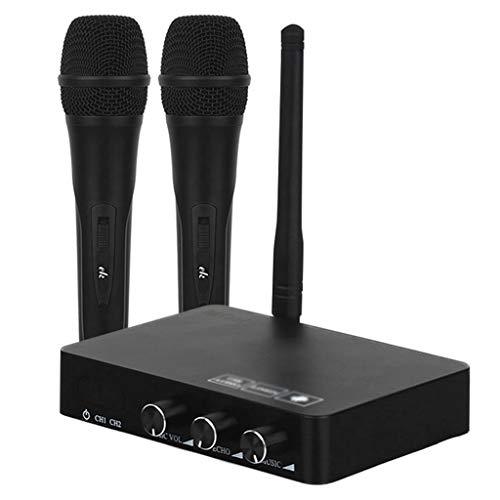 STRAW Para computadora/Android Box Teléfono móvil/Tableta/TV, Altavoz portátil Micrófono inalámbrico Máquina Inteligente de Karaoke