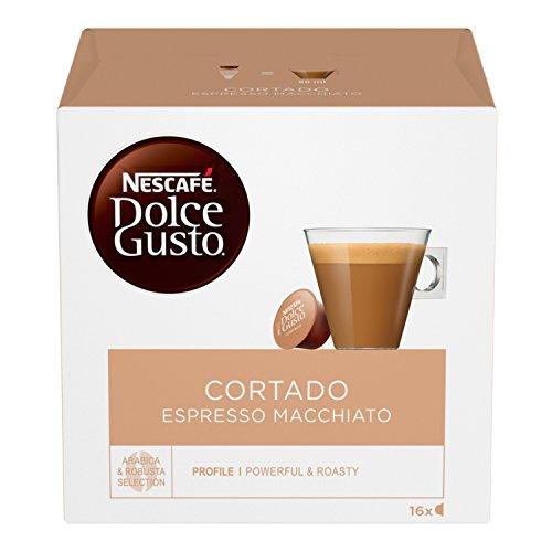 NESCAFÉ Dolce Gusto Cortado Espresso Macchiato Caffè Macchiato 16 Capsule
