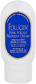 Folligen Cream Copper Peptide Cream for Hair Loss or Thinning Hair 2oz