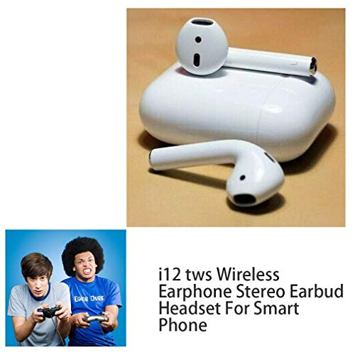 Joyleah i12 Wireless Earphone Stereo Earbud Headset for Smart Phone Wire earset