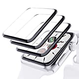 EGOEC[3 Pack] Screen Protector for Apple Watch 40mm Series 6/SE/5/4, HD Full Coverage Flexible TPU Screen Protector Film [Bubble-Free] [Anti-Scratch] Compatible with iWatch Series 4/5/6/SE 40mm
