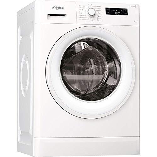 Whirlpool 7 KG Front Load Washing Machine, White – FWF71052W, 1 Year Brand Warranty