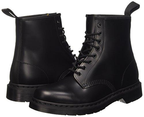 Dr. Martens Dr. Martens 1460 MONO Smooth BLACK, Unisex-Erwachsene Combat Boots, Schwarz (Black), 36 EU (3 Erwachsene UK)