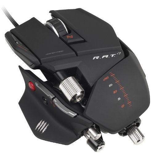 Mad Catz R.A.T. 7 Gaming Maus, 6400 dpi, PC und MAC